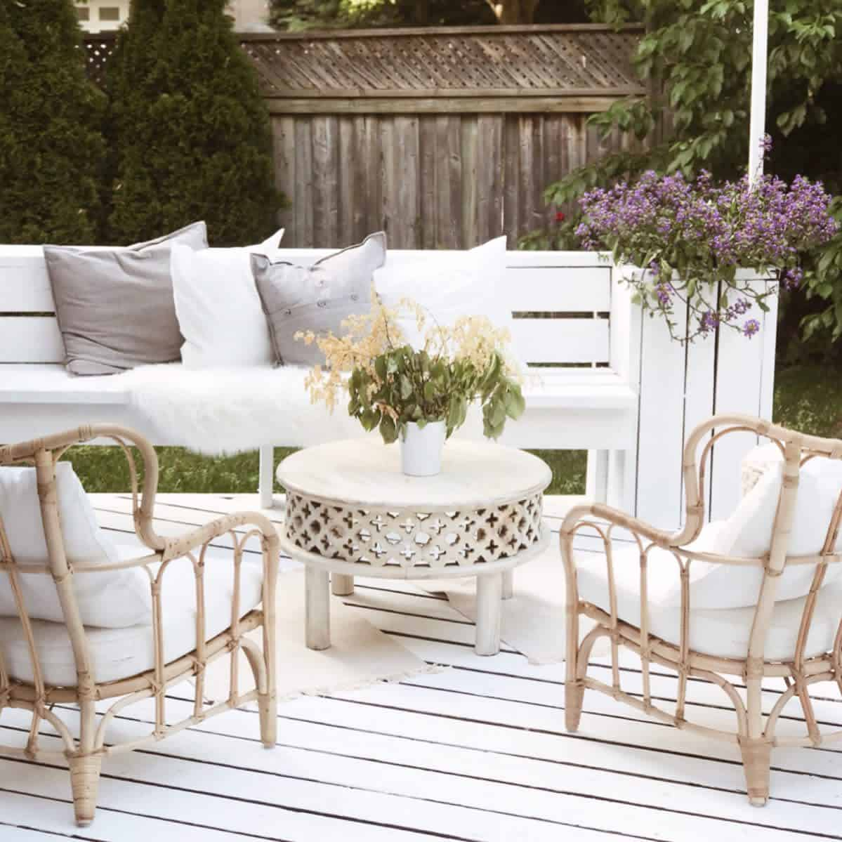 White Deck Color Ideas -gerdu.interior