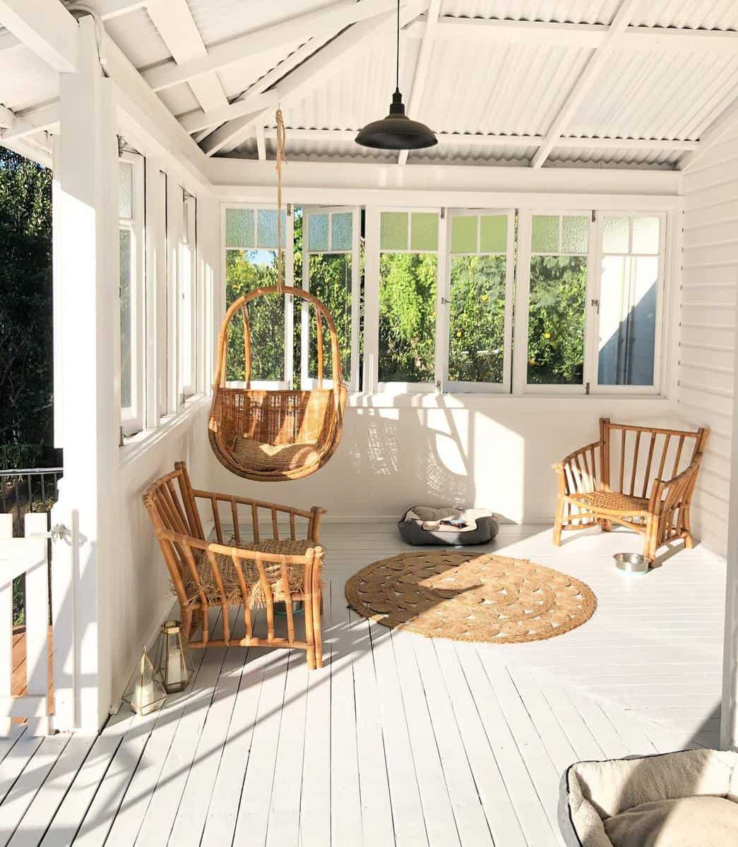 White Deck Color Ideas -our.sweet.retreat