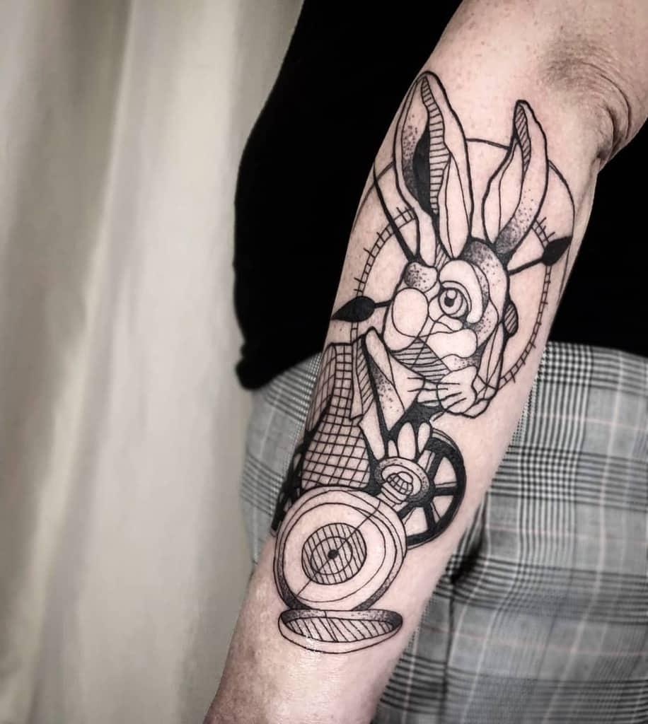 White Rabbit Alice In Wonderland Au Robin