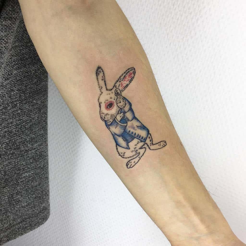 White Rabbit Alice In Wonderland Ezgitekcam