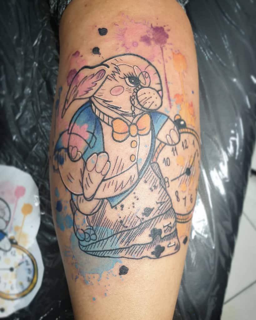 White Rabbit Alice In Wonderland Path Ola