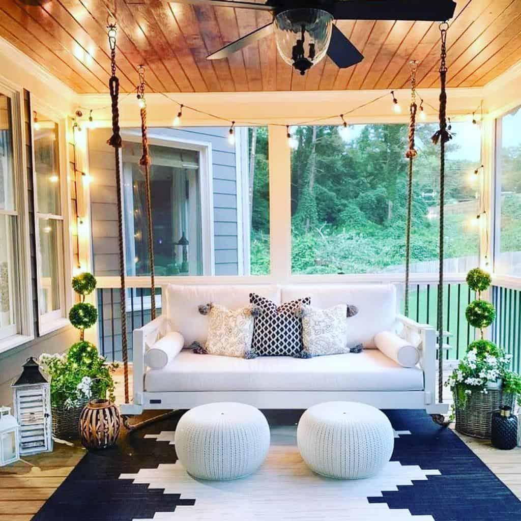 White Sunroom Furniture Ideas natalie_khalil_realtor