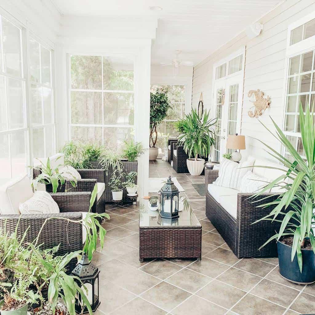 Wicker Sunroom Furniture Ideas conniebennettig
