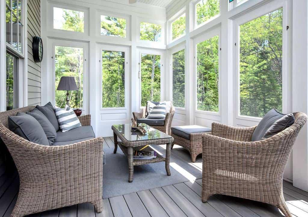 Wicker Sunroom Furniture Ideas m.r.brewer
