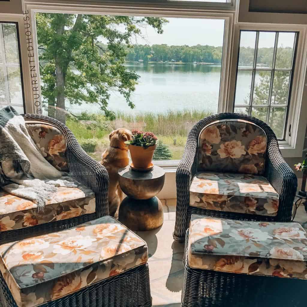Wicker Sunroom Furniture Ideas ourrentedhouse