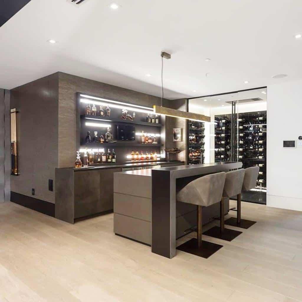 Wine Wet Bar Ideas lauraagnewdesigns