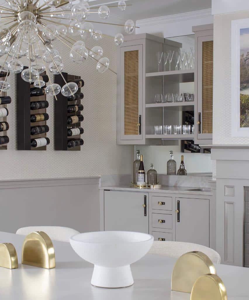 Wine Wet Bar Ideas nicole.hirsch.interiors