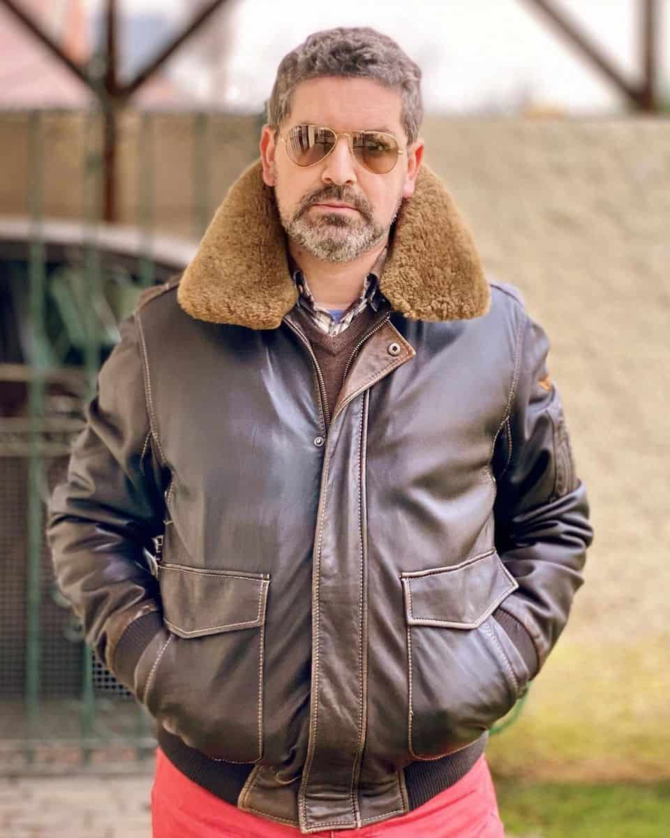 Winter Leather Jacket Styles -thestyleisnotenough