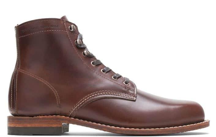 Wolverine 1000 Mile Plain-Toe Original Boots