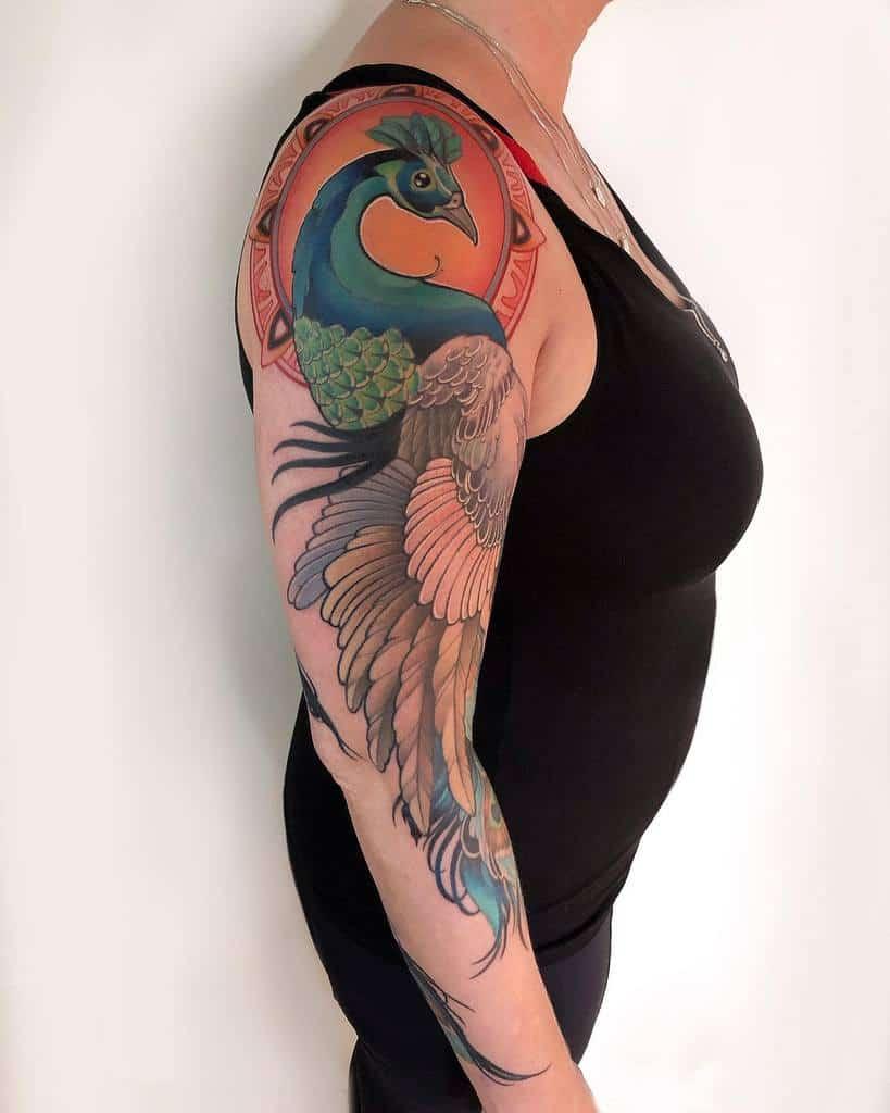 Women 34 sleeve tattoo jonpall_art