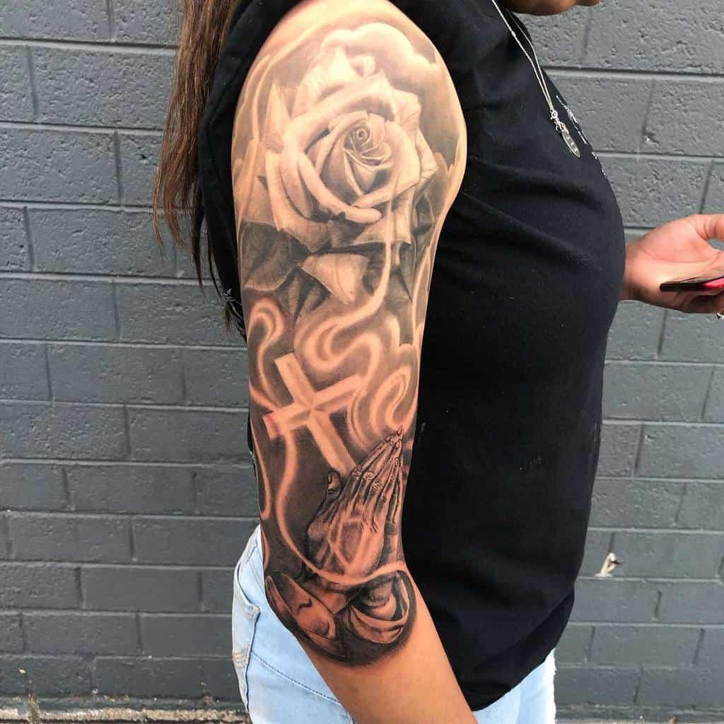 Women 34 sleeve tattoo porkymartinez