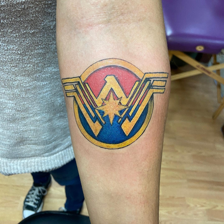 Symbol Wonder Woman Tattoo -wtf_whitney_