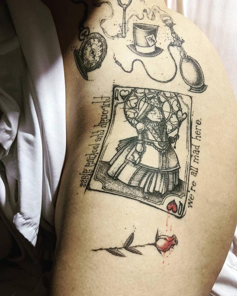 Wonderland Inspired Alice In Wonderland Slateronthemic