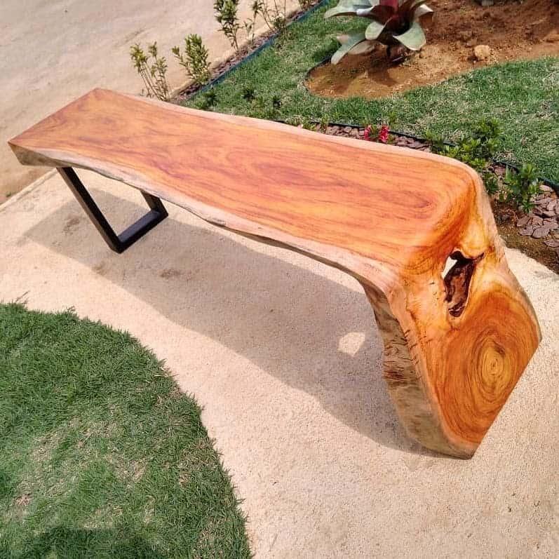 Wood Carving Garden Bench Ideas -veiosrusticos