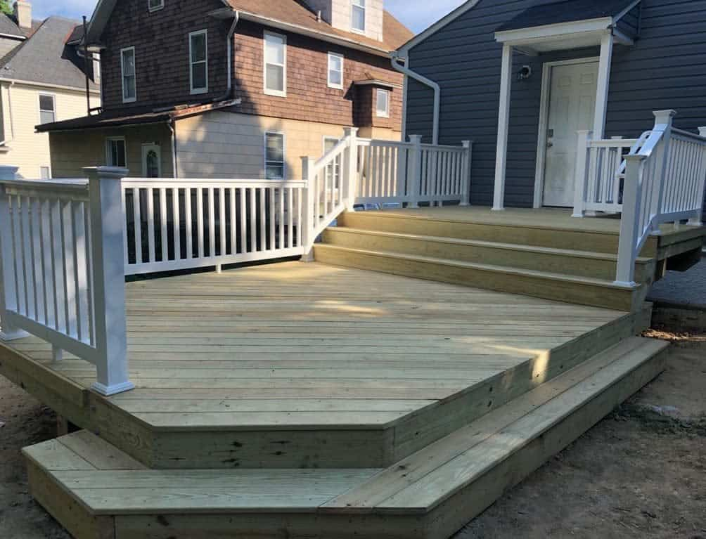 Wood Deck Color Ideas -kairoshomeimprovement