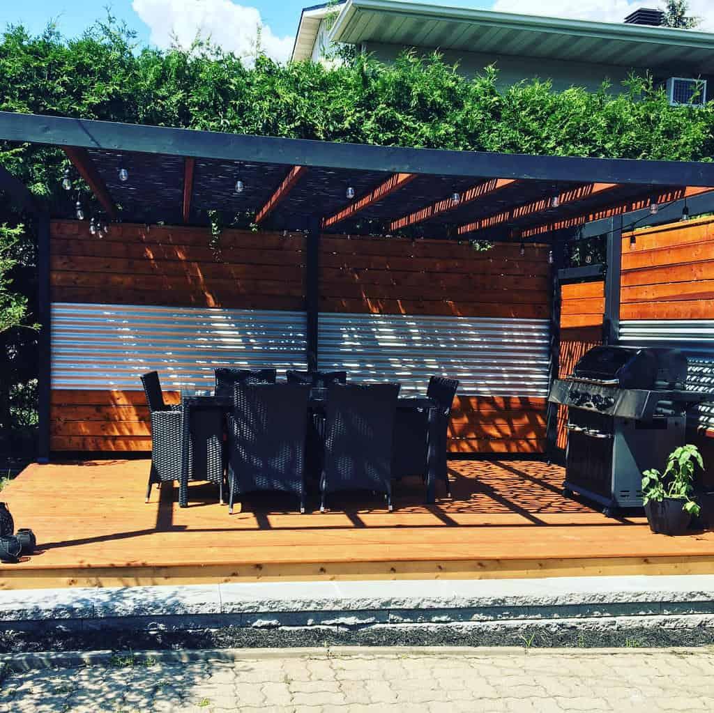 Wood Deck Decorating Ideas -mcdonald2144