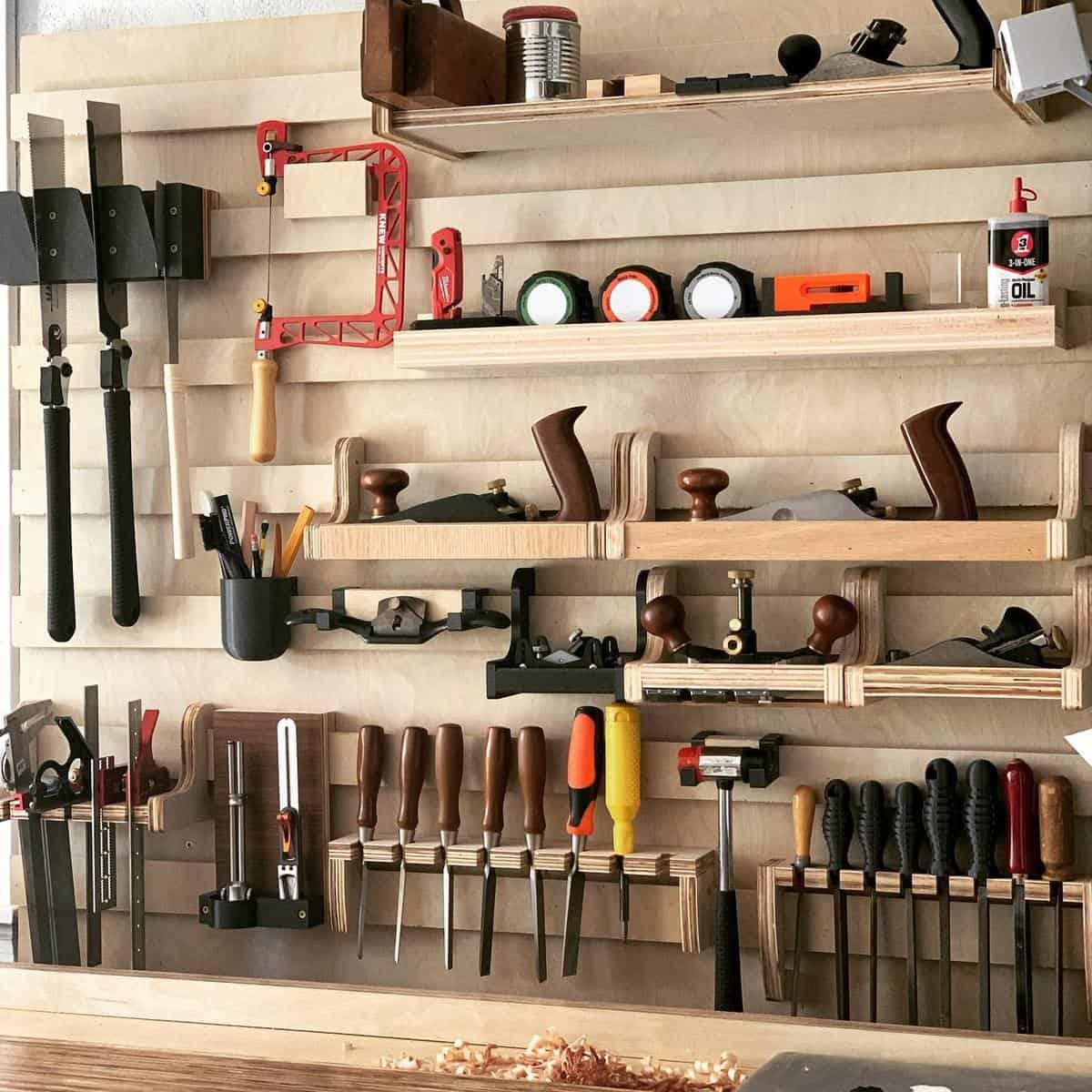 Wood Tool Storage Ideas -3d_diy_dave