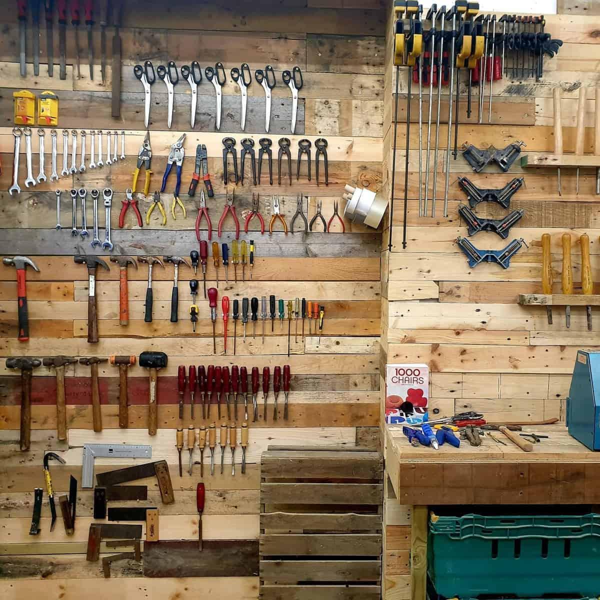 Wood Tool Storage Ideas -4eyedimensions