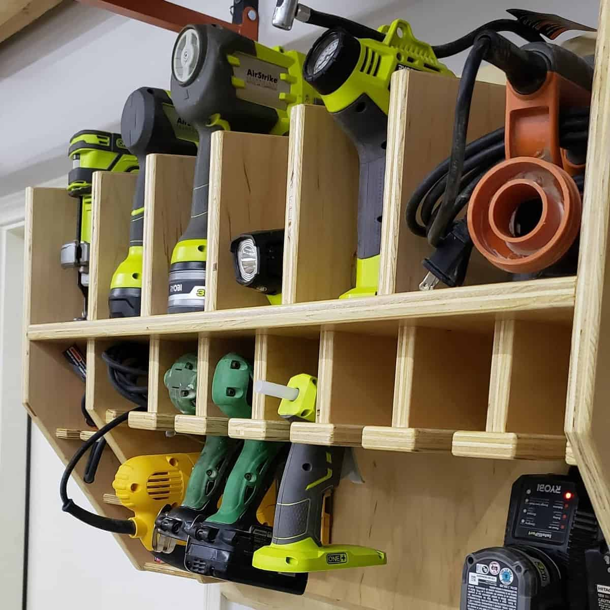 Wood Tool Storage Ideas -dash_made_woodworking
