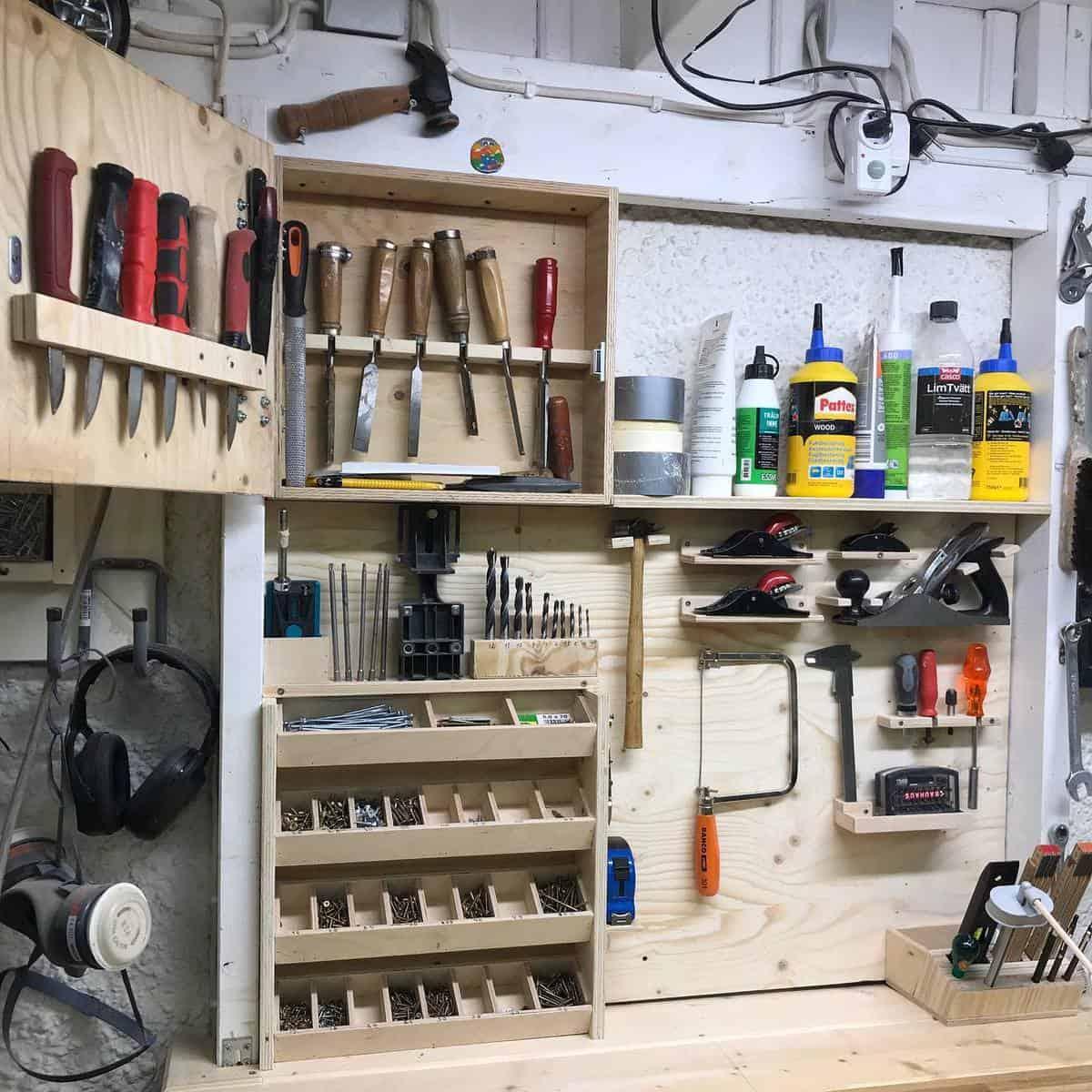 Wood Tool Storage Ideas -dennis.s2018