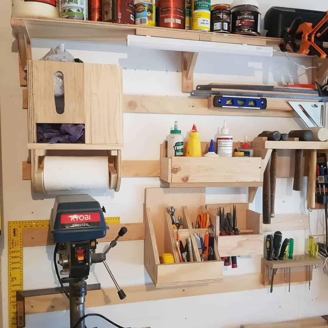 Wood Tool Storage Ideas -jolleydiy