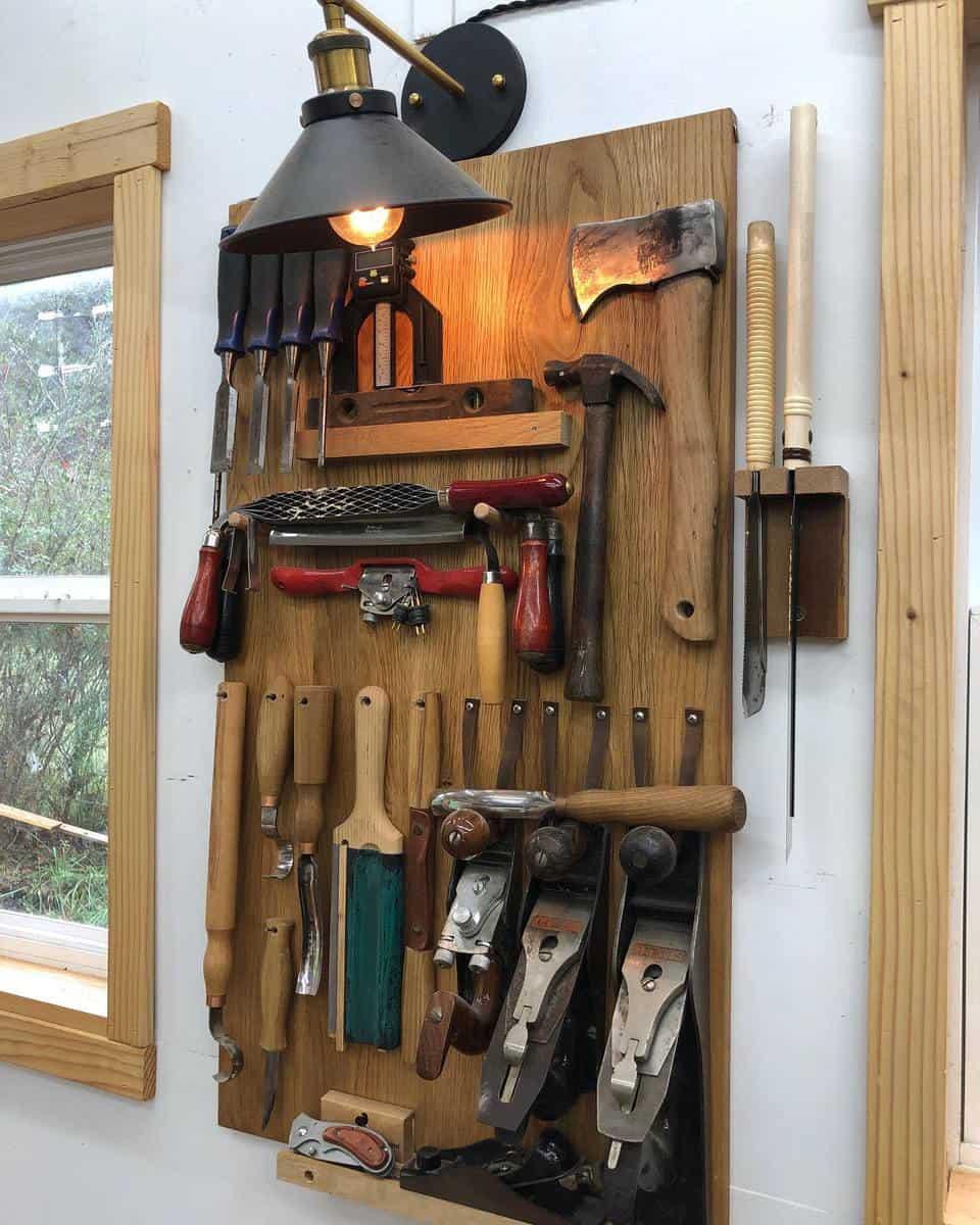 Wood Tool Storage Ideas -samcraftcom