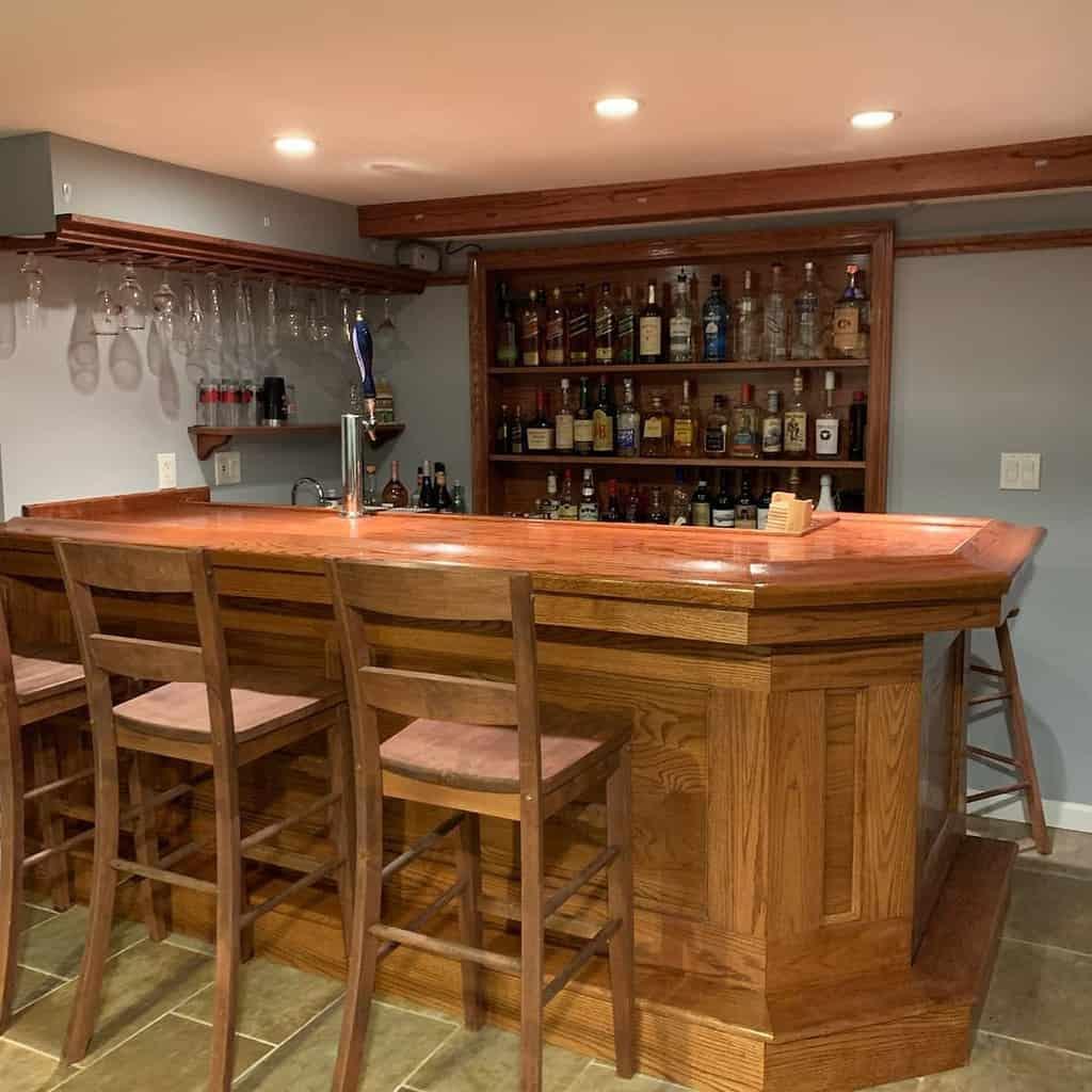 Wood Wet Bar Ideas billsbars
