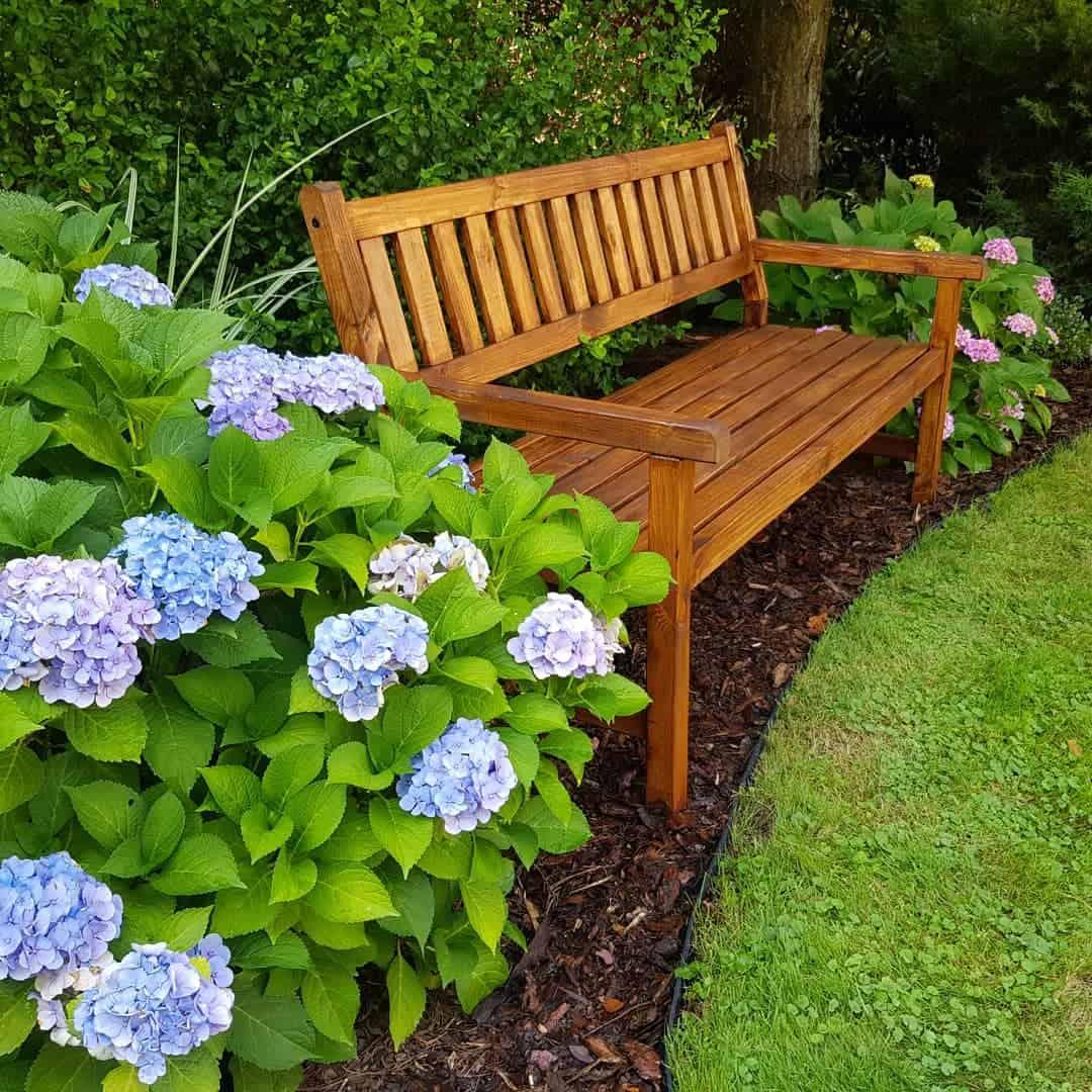 Wooden Garden Bench Ideas -ogrodowa_nr5