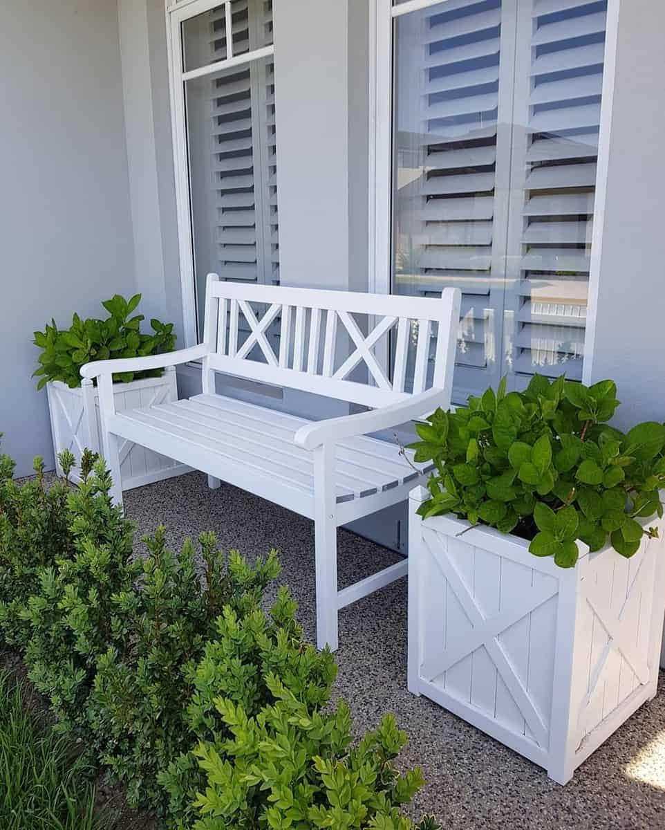 Wooden Garden Bench Ideas -ourhamptonshome.x