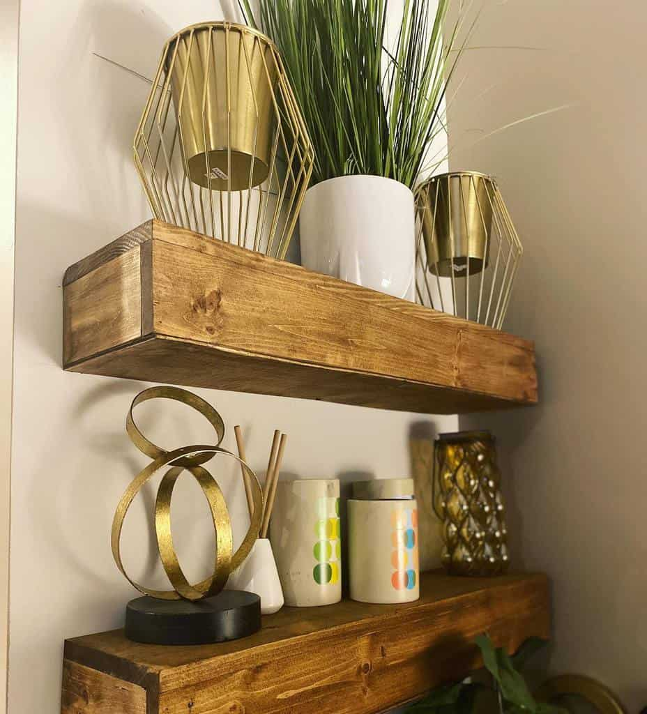 Wooden Shelving Ideas demjohnsonshome