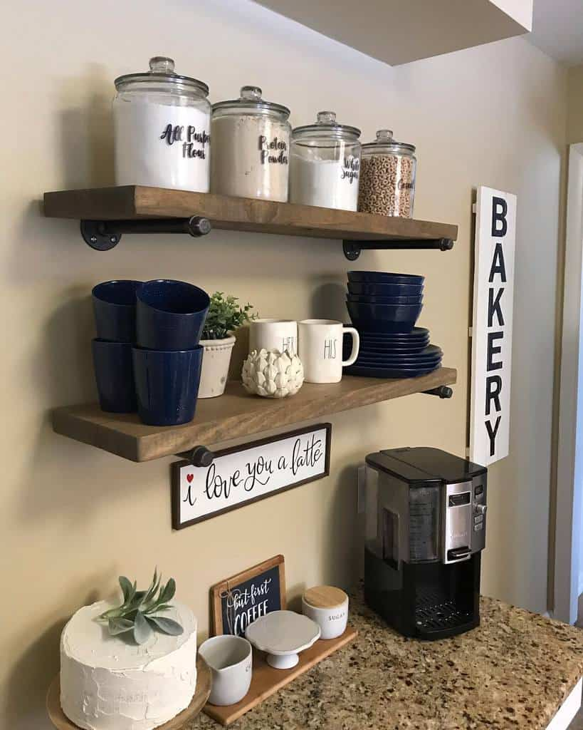 Wooden Shelving Ideas joannascottagehome