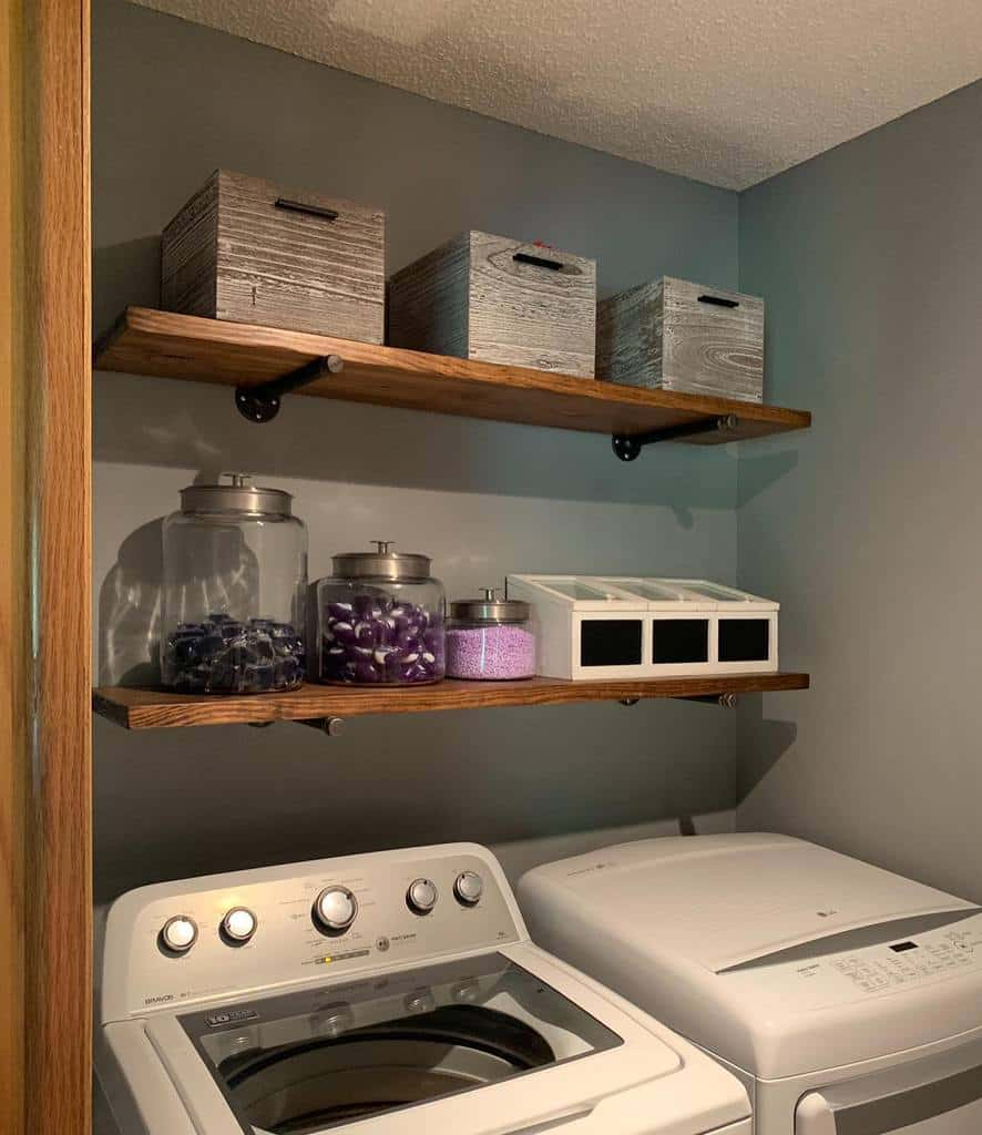 Wooden Shelving Ideas mydiymodernfarmhouse