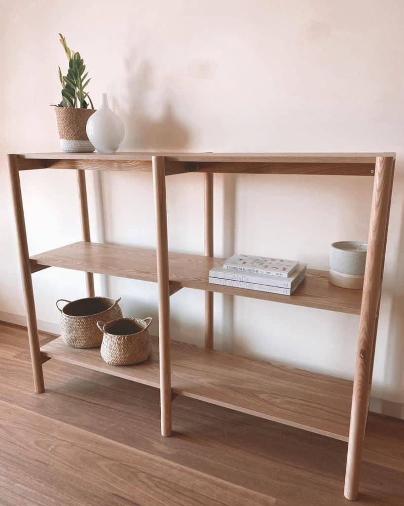 Wooden Shelving Ideas renosondove