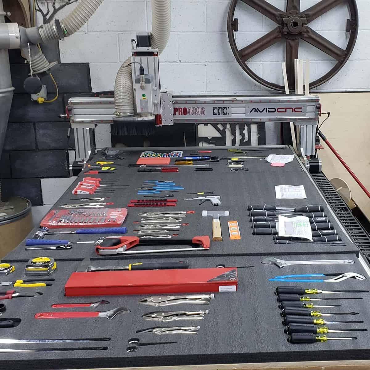 Workbench Tool Storage Ideas -izzyswan_woodworking