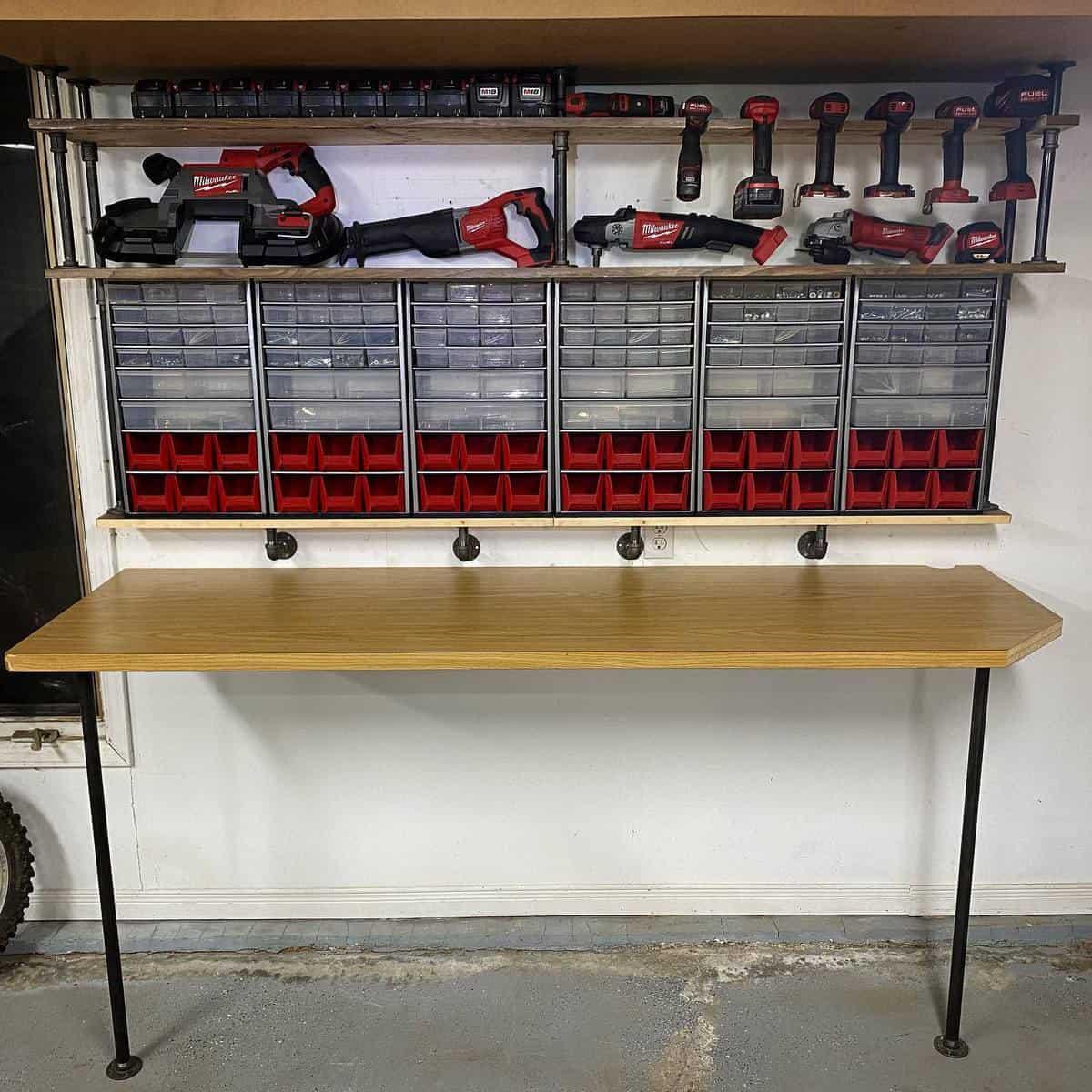Workbench Tool Storage Ideas -motorbolt