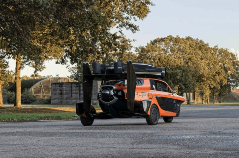 World's First Street-Legal Flying Car 2