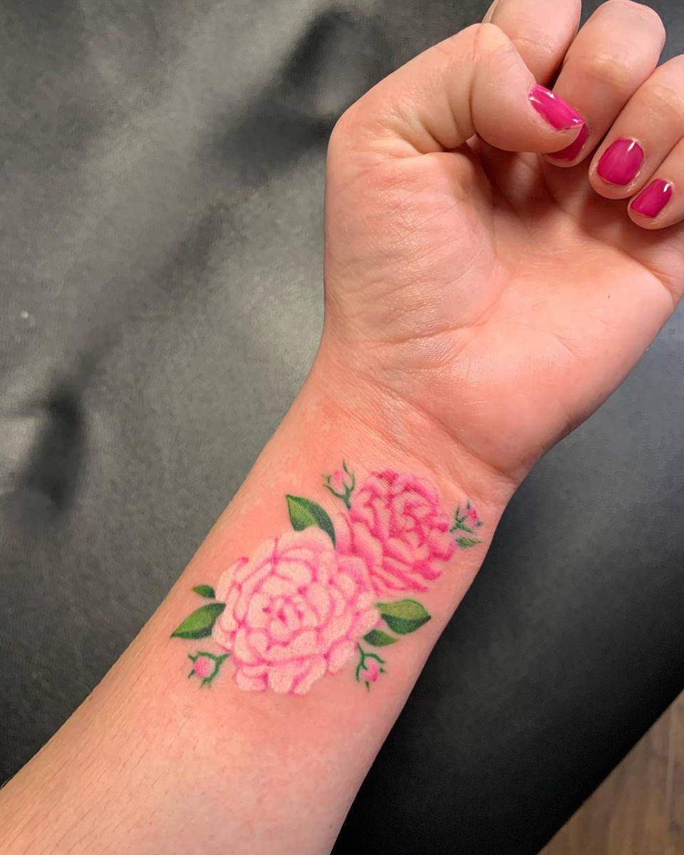 Wrist Miscarriage Tattoos -ebdetails