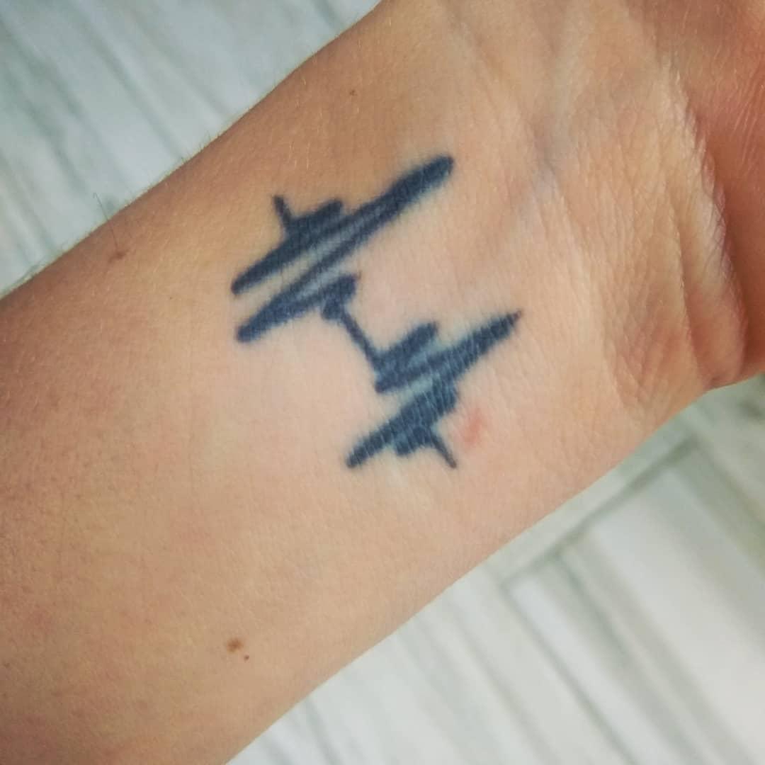 Wrist Miscarriage Tattoos -melissahoggfitness