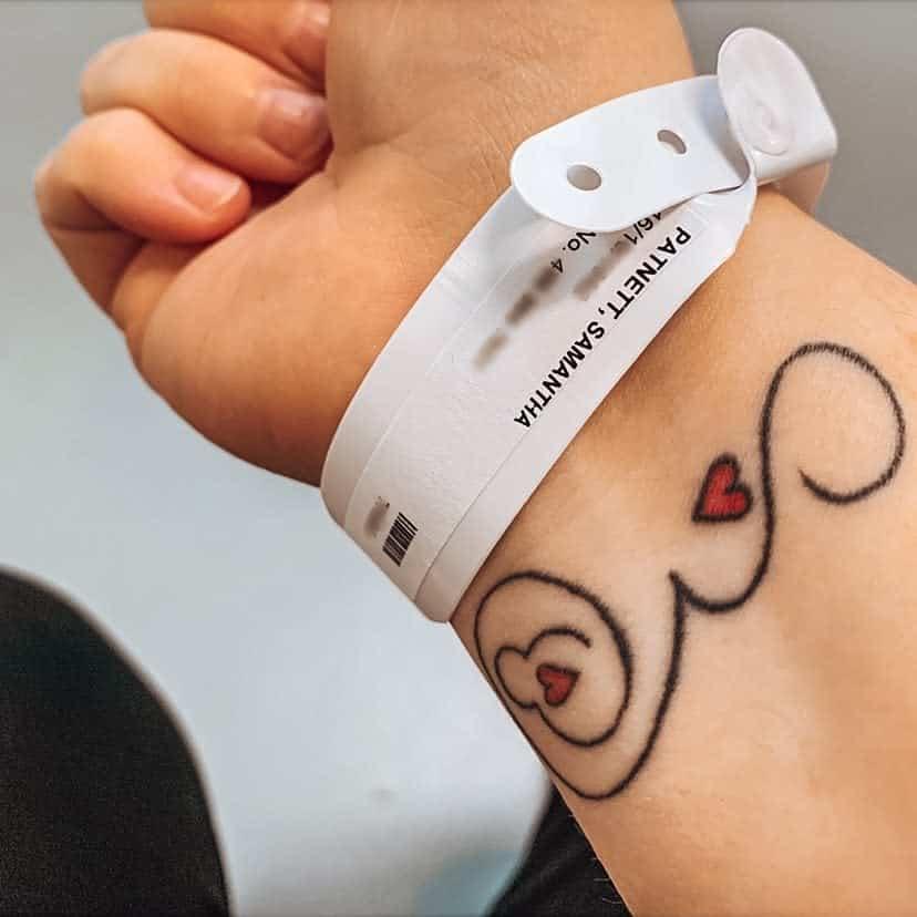 Wrist Miscarriage Tattoos -sammy_patnett
