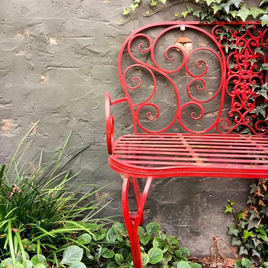 Wrought Iron Garden Bench Ideas -nekoburro