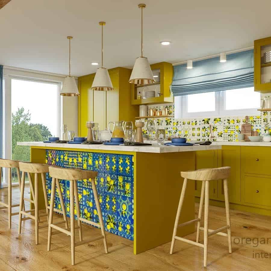 Yellow Kitchen Cabinet Color Ideas innboyko
