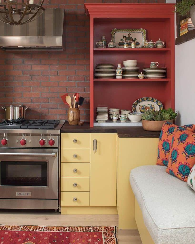 Yellow Kitchen Cabinet Color Ideas thekitchendesigngroup