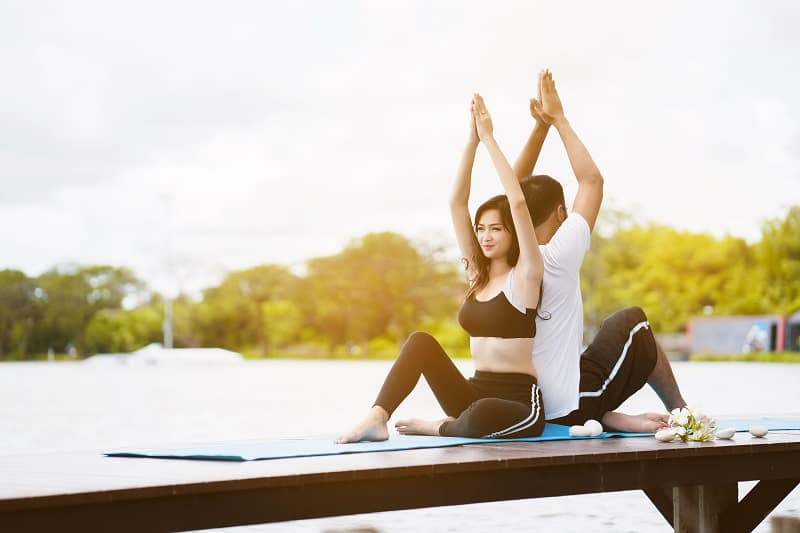 Yoga-Best-Hobbies-For-Couples