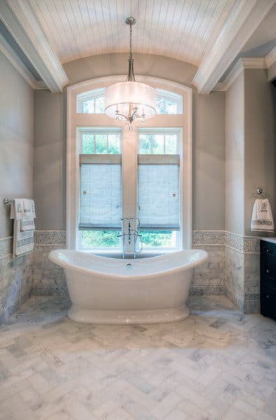Above Bathtub Bathroom Ceiling Lights Ideas