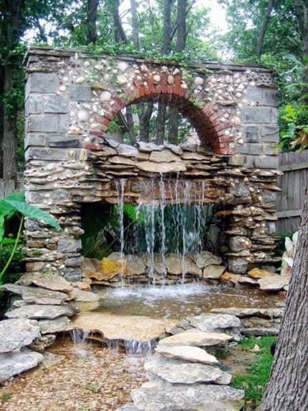 Above Ground Pond Ideas With Fountain