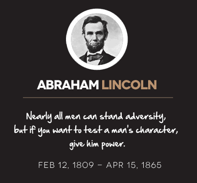 abraham-lincoln-quotes - Next Luxury