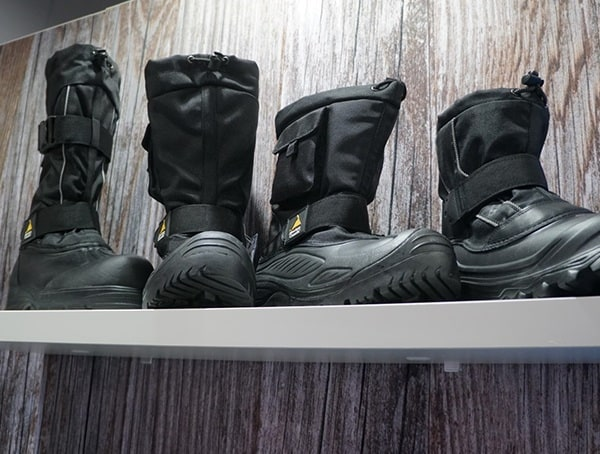 Absolute Canada Boots Display