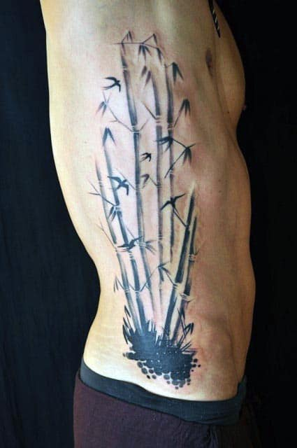 50 Bamboo Tattoo Designs For Men - Lush Greenery Ink Ideas