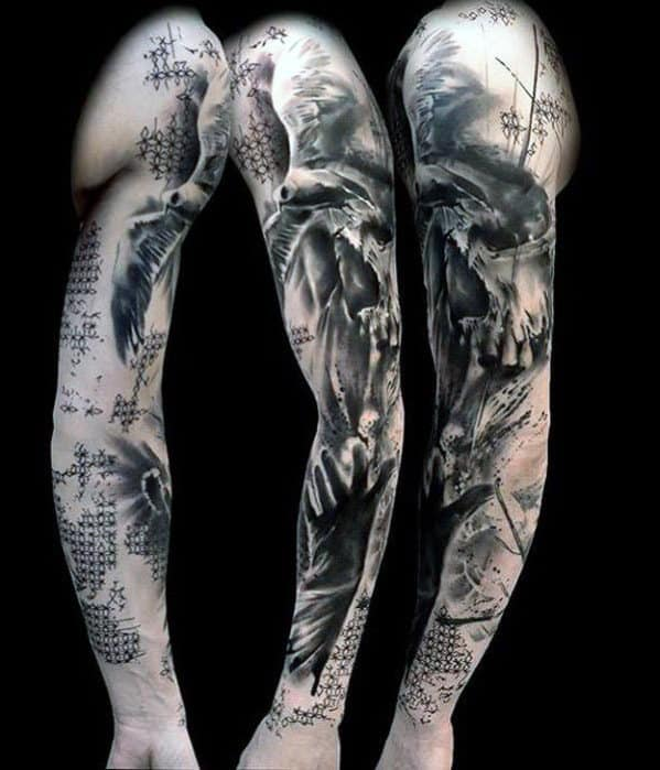 Top 107 Sleeve Tattoo Ideas 2020 Inspiration Guide,Graphic Design Online Portfolio