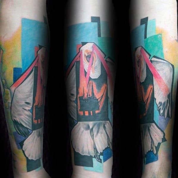 40 seagull tattoo designs for men seabird ink ideas. Black Bedroom Furniture Sets. Home Design Ideas
